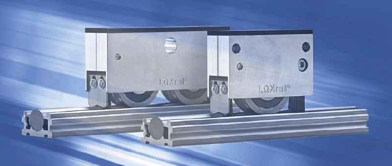 Der neue LOXrail-Katalog von Losyco zeigt das robuste Förderschienensystem von allen Seiten