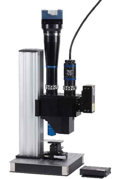 Für die optische Inspektion mit großen Flächen- und Zeilensensoren bietet Qioptiq jetzt ein Mikroskopsystem mit integriertem Autofokus an
