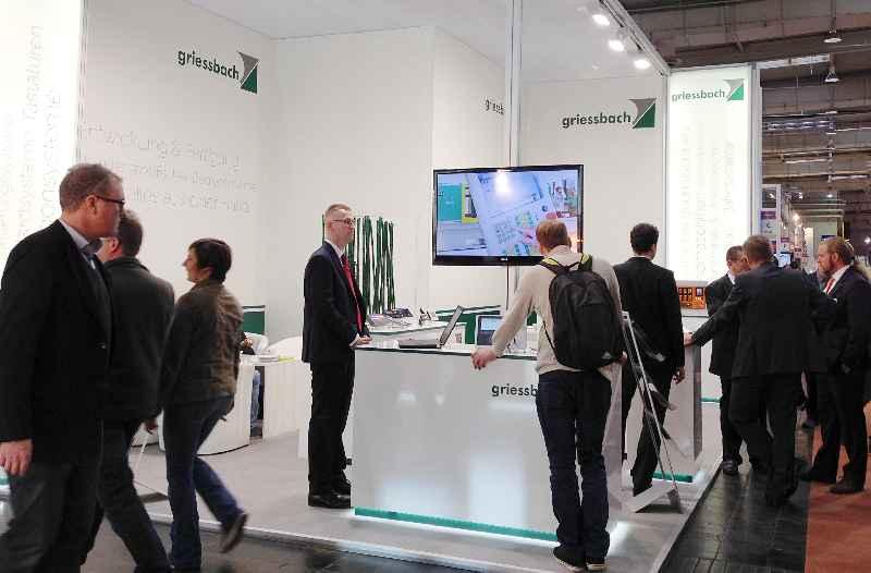 Auf kundenspezifische Anwendungen abgestimmte Bedientechnik zeigt Griessbach auf der diesjährigen electronica vom 8. bis 11. November