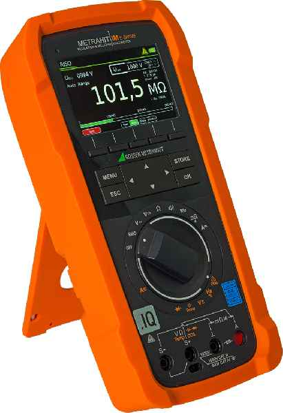 The new universal multimeter METRAHIT IM E DRIVE features comprehensive measuring and testing functions for the automotive and avionics industries