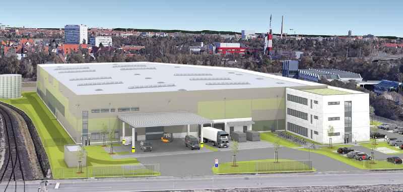 Mitte Mai bezieht die zur GMC-I-Gruppe gehörende MTPGmbH neue moderne Fertigungsstätten zur Produktion und Montage von Mess- und Prüftechnik am Nürnberger GVZ-Hafen