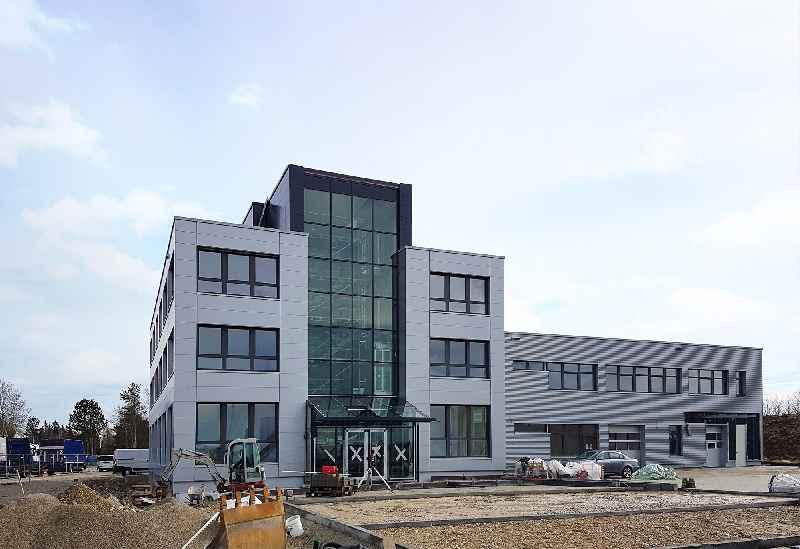 Das neue inelta-Firmengebäude in Taufkirchen