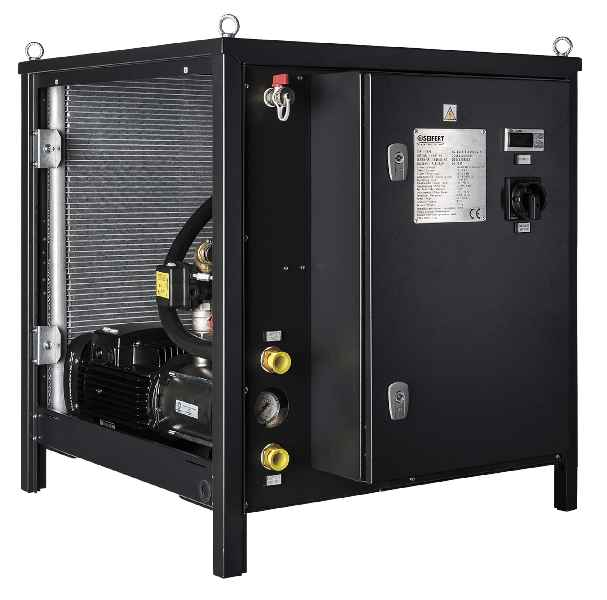 Der Chiller RC2045 von Seifert Systems ist mit zwei separaten Sensoren zur Temperaturkontrolle ausgestattet