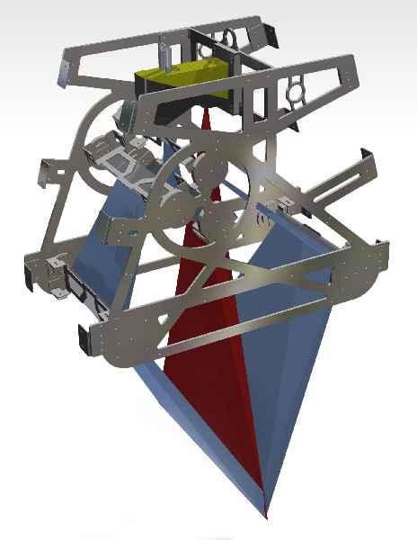 Das Reflexsystem mit getrennten Strahlengängen ist eine ökonomische Lösung für exakte, vollständige 3-D-Aufnahmen