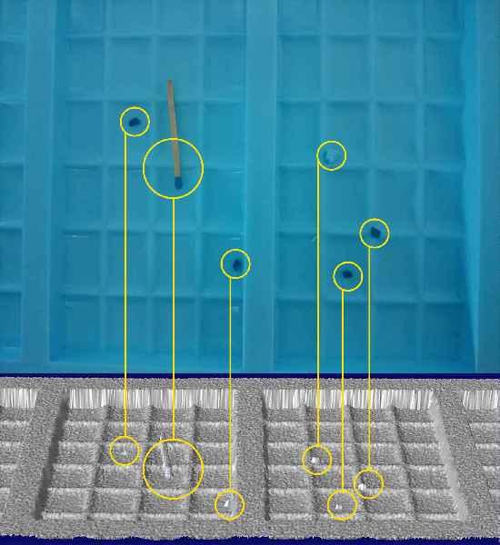 Der Experte für 3D-Formbruchkontrolle führt sein neues Reflexsystem zur Detektion kleinster Fremdkörper vor