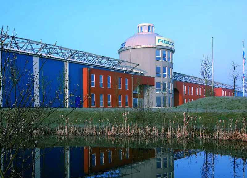 Fibox (pictured: the German headquarters in Porta Westfalica) has been supplying robust plastic enclosures to the world for 25 years