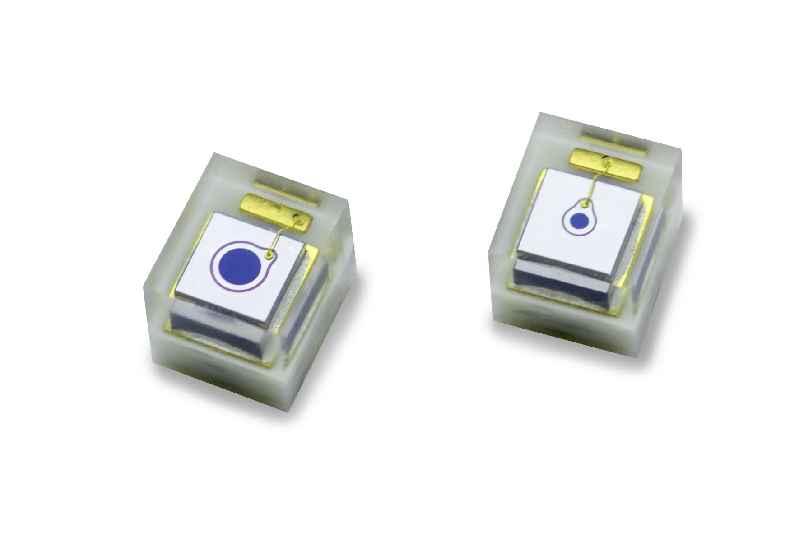 Die Silizium-Avalanche-Photodioden für die optische Entfernungsmessung sparen Platz und Kosten in SMT-Linien