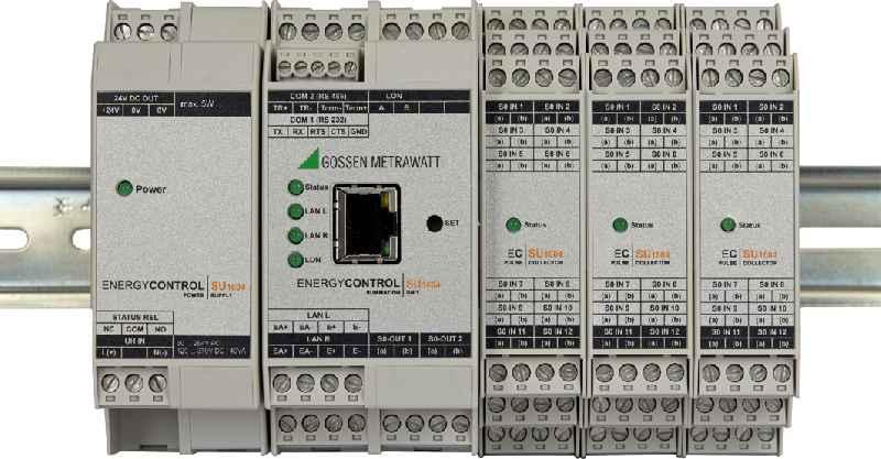 Die neue modulare Summenstation SU1604 – hier mit den Zusatzmodulen SU1614 und SU1624 – lässt sich auf bis zu 64 Rechenkanäle erweitern