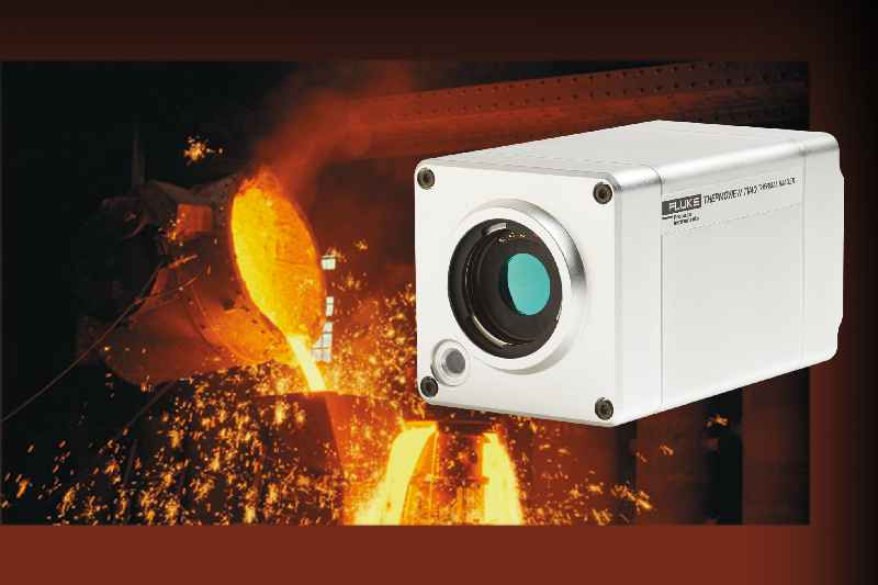 The thermal imager enables 24/7 process monitoring with automatic alarms for overheating or defined irregularities