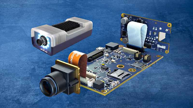 Comprehensive developer kit for rapid prototyping and small series production: the modular Maivin i.MX 8M Plus AI Vision Kit from AU-Zone, Toradex and Vision Components