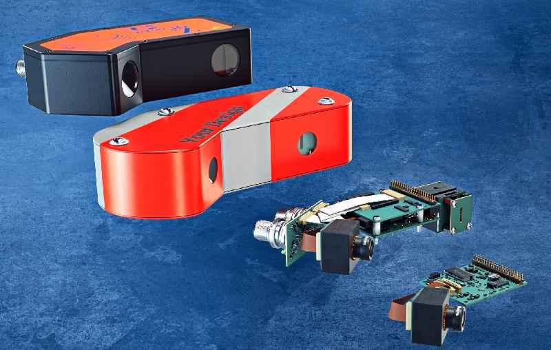 Vision Components liefert industrietaugliche Fertiglösungen, kundenspezifische Systeme und Bausätze für die Winkelmessung und Inline-Nachregelung beim Blechbiegen
