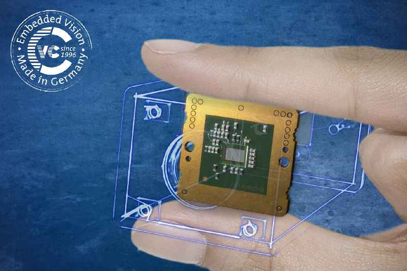 Vision Components presents several innovations, including the world's smallest embedded vision system, VC picoSmart