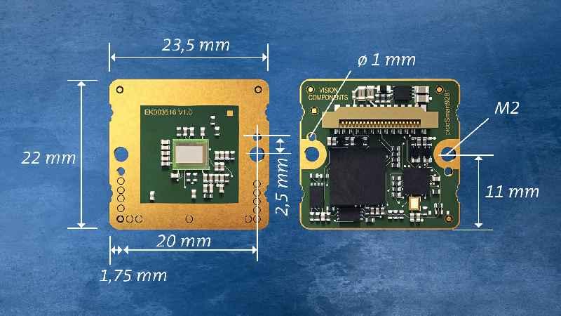 Die Komponenten für Bildeinzug und -verarbeitung sind komplett auf der ultrakompakten Platine integriert und perfekt aufeinander abgestimmt – OEMs können Vision-Sensoren dadurch kostengünstiger entwickeln und schneller zur Marktreife führen