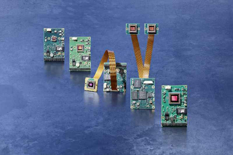 New embedded vision systems with fast medium-res and high-res CMOS image sensors are available in compact configurations for OEM projects
