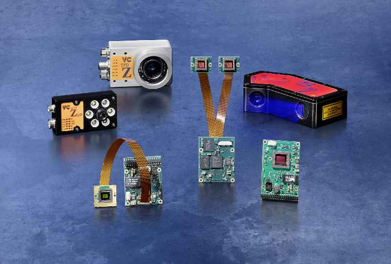 Vision Components presents embedded vision systems with new, powerful image sensors and a 3D laser profiler that can also analyze the grayscale image